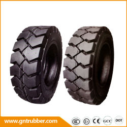 Bias Mining militaire pneumatische Press-on Skidsteer Solid Industrial Forklift Tire 8.25-15 8.15-15 8.25-12 500-8 7.00-12 600-9