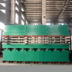 Vente de la voie Precure chaud la vulcanisation Appuyez sur // de la voie des pneus Making Machine de moulage par voie de presse en caoutchouc