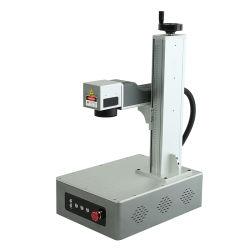 Impression de surface de métal de la machine machine de marquage au laser à fibre