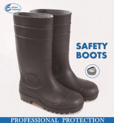 Los trabajos de jardín, Calzado de Protección impermeable de PVC de seguridad botas de lluvia duradero