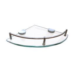 棚の浴室の記憶のオルガナイザーの棚の緩和されたガラス