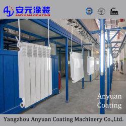 Revêtement en poudre pour la machine de ligne de radiateur en aluminium