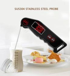 مقياس حرارة على شكل Meat للقراءة الفورية - أفضل مقياس حرارة فائق السرعة ومقاوم للماء مع الإضاءة الخلفية والمعايرة