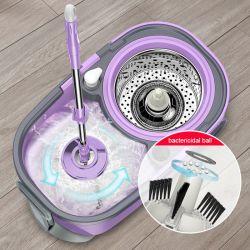 2020 Hot Magic Mop-de-chaussée Mop microfibre de nettoyage de balai en coton Mop Mop Mop de poussière de godet