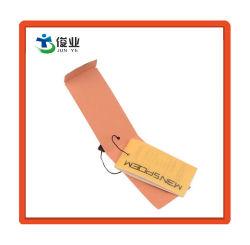 Étiquette personnalisée pour les vêtements avec du papier de marque tag de pivotement