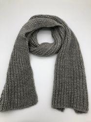 패션 100% Acrylic knitted Knitting Scarf