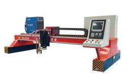 لوح معدني سميك من الفولاذ المقاوم للصدأ مصنوع من الفولاذ المقاوم للصدأ CNC جسر البلازما ماكينة قطع اللهب 63A 100A 120A 160A 200A 300A 400A سعر قاطع الفخس بالأكسجين في البلازما