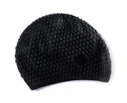Sports nautiques en silicone Swim Cap Hat souple élasticité durable