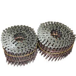 15 Deg fil lumineux en acier inoxydable de la palette des clous à vis de la bobine pour la construction
