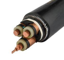 10kv Conducteur en cuivre avec isolation XLPE Câble d'alimentation pour la transmission de puissance