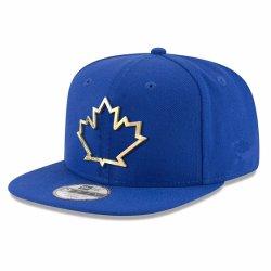 Casquette de baseball réglable bleu Logo encadré Matel nouvelle ère de la mode avec méplat Snapback Visor le projet de loi
