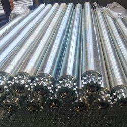 OEM 採掘ベルトコンベアローラの中国工場での信頼性の高い運転