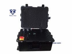 High Power Multi Band GSM 3G 4G GPS WiFi UHF VHF mobiele telefoon signaal Jammer (waterdicht schokbestendig ontwerp)