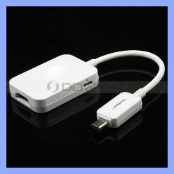 Mhl HDMI 1080p Câble adaptateur pour Samsung Galaxy S4 I9500