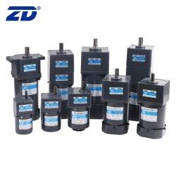ZD 110 V/220 V 6 W-200 W 60 mm-104 mm monofase trifase micro elettrico Motore a induzione con ingranaggi CA