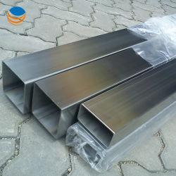 ASTM A554 من الفولاذ المقاوم للصدأ 304 أنبوب مستطيل مصقول