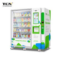 Des Tcn-OEM/ODM Kosmetik-Verkaufäutomat Screen-Mikromarkt-3c Digital