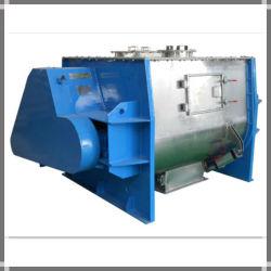 De dubbele Machine van de Mixer van de Peddel van de Schacht voor de Meststof van het Poeder