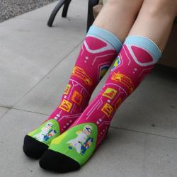 Venda a quente vestido Personalizado Bonitinha Cartoon quente acolhedor de algodão mulheres meias