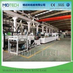 O PVC plástico automática/WPC Teto/painel de parede (10m/min)/Painel de Porta/Janela/Orladora/ Faixa de canto//Rolo em deck Obturador/Máquina de perfil de entroncamento de cabo