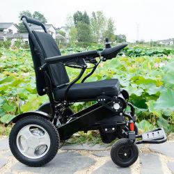 이중 배터리 전동 접이식 휠체어(FDA 및 CE 포함