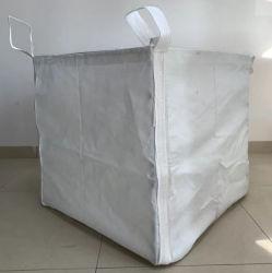 100% من تغليف الإسمنت الخارجي القابل لإعادة التدوير من طراز PP بالطن واحد من الإسمنت الفائق حقيبة كبيرة ضخمة
