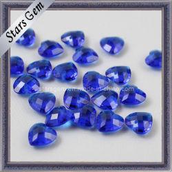 Corazón de corte de comprobador de cuentas de vidrio para joyería