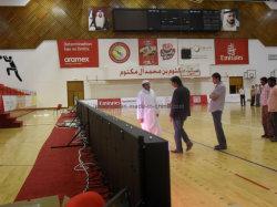 Stade sportif périmètre écran LED de vidéo