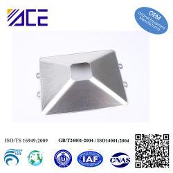 Teil stempelnd, ist Gebrauch als Lampen-Reflektor, verschiedene Oberflächenbehandlung erhältlich