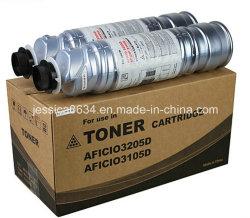 Type de Ricoh compatible 3105 3205 32053105D d'utilisation de cartouches de toner pour Aficio 1035 1045 AP 4510 SP 8100 copieurs de l'imprimante