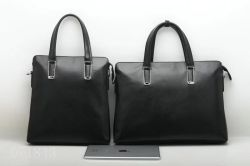 Ultimo sacchetto del computer portatile del cuoio genuino di modo degli uomini di affari di fabbricazione (F71843V)