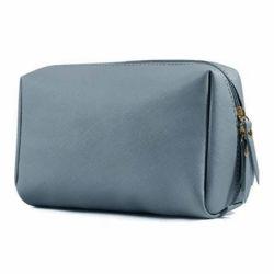Pequena Couro Vegan Makeup bag bolsa de viagem Bolsa de maquiagem Mini saco cosméticos para mulheres jovens