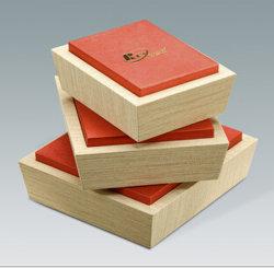 Confezioni regalo in legno di porcellana di legno di pino forte