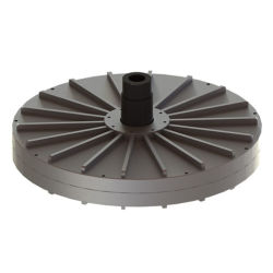 5 квт с низкой частотой вращения осевого потока Coreless постоянного магнита генератор для вертикальный ветровой турбины (Генератор Maglev 100W-20КВТ)