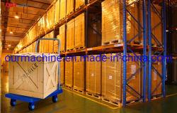 150 kg plegable de plástico de la plataforma de transporte CARRO carro de mano para almacén