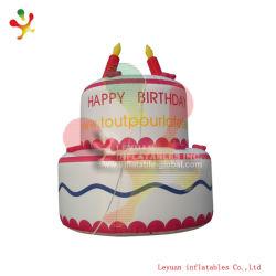 Производство надувных День Рождения торт форма / надувной торт Bouncer