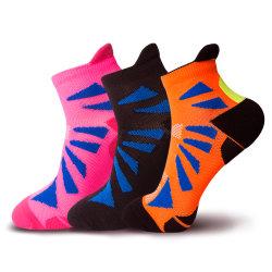 Chaussettes de cheville nylon Terry coussin Mens Socks Chaussettes de sport