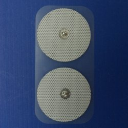 وسادات إلكترود بديلة قابلة لإعادة الاستخدام ذات جودة عالية وآمنة مستديرة، وعشرات لاصقة مصنوعة من القماش غير المحبوك