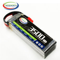 Customized grande Max 30c 4s 14,8 V 3500mAh Lipo Bateria para Uav