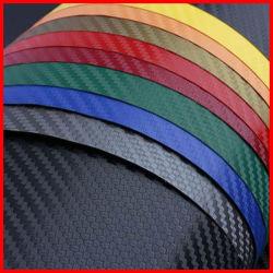 3D Car Gloss Carbon Fibre Vinyl Wrap Sticker Film Roll Air Release Film Car Wrap