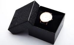 Lichee Muster-Deckel-Vorstand-Papier-Geschenk-Uhr-Kasten, Uhr-Verpackungs-Kasten