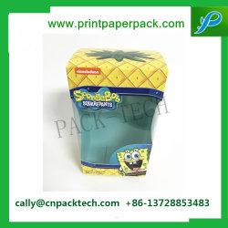 Un emballage cadeau Box Boîte carton de l'impression de papier kraft de fruits de l'impression boîte jaune