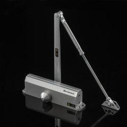 D4016 UL Médio Direito Pesado Ajuste automático hidráulico comercial de alumínio fechador da porta articulada para 20-150kg Porta