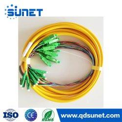 12 24 ядер оптоволоконным кабелем для распределения пучками отвод/Patchcord