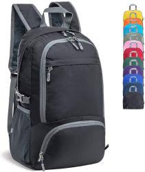 Hot Promotion Sport recyclé sac à dos léger et pliable