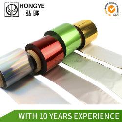 Estampación de alta calidad para el papel de aluminio de cuero plástico