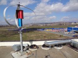 騒音無しのホーム使用のための新しいMaglevの発電機3kwの縦の軸線3の刃の風力発電機
