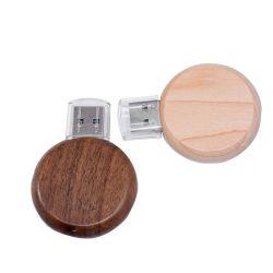 Il nome di Custom Flash Memory Company ha marcato a caldo l'azionamento di legno dell'istantaneo del USB