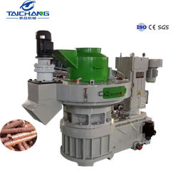 Taichang alta eficiencia el mejor precio de la biomasa cascarilla de arroz / prensa de pellet de madera peletizadora Aserrín