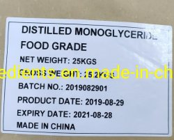 Glicerina Monostearate destilada E471 Gms Nº CAS 123-94-4